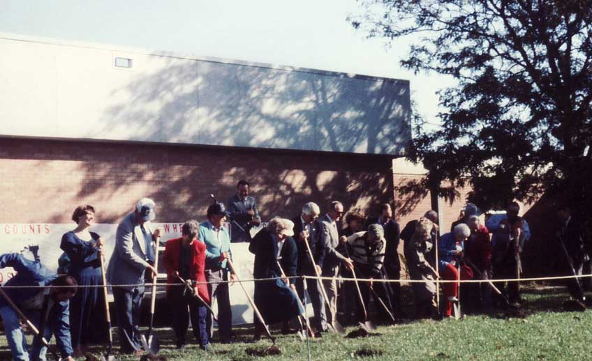 1992 Expansion Groundbreaking